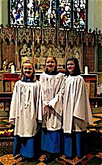 3 new choristers