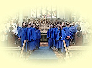 the south half of the choir